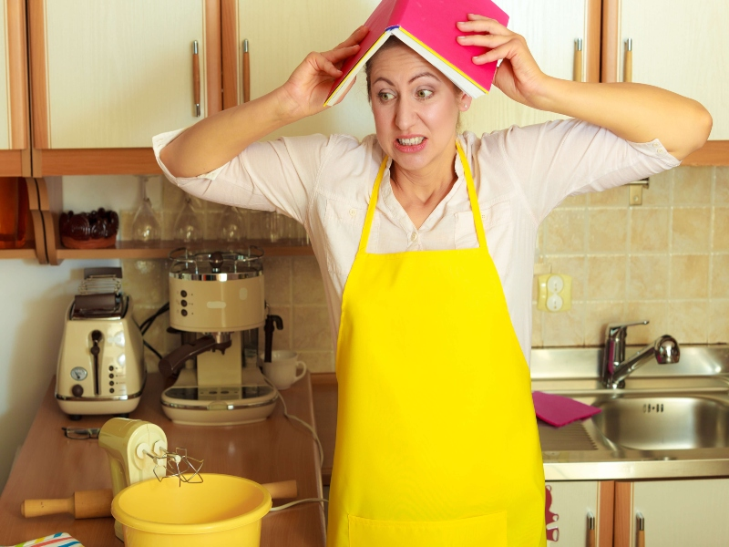 Home Cooking Frustration Time Wast and Money Waste
